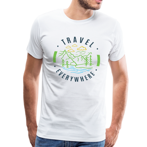 Men's Travel Everywhere T-Shirt - white