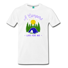 Load image into Gallery viewer, Men's Campers Life T-Shirt - white