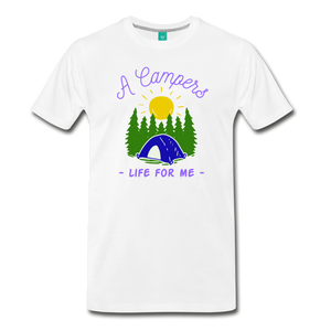 Men's Campers Life T-Shirt - white