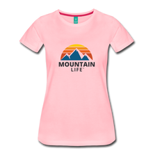 Load image into Gallery viewer, Women's Mountain Life Shirt - pink