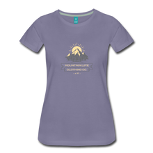 Load image into Gallery viewer, Women's Mountain Life Clothing Co T-Shirt - washed violet