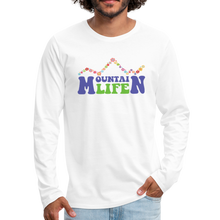 Load image into Gallery viewer, Men's 60s Mountain Life Long Sleeve Shirt - white