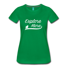 Load image into Gallery viewer, Women's Explore More T-Shirt - kelly green
