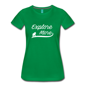 Women's Explore More T-Shirt - kelly green