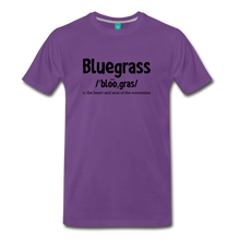 Load image into Gallery viewer, Men's Bluegrass Definition T-Shirt - purple