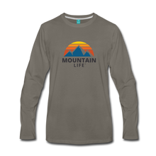 Load image into Gallery viewer, Men's Mountain Life Long Sleeve Shirt - asphalt