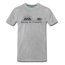 Load image into Gallery viewer, Men's RV Keep It Simple T-Shirt - heather gray