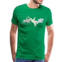 Load image into Gallery viewer, Men's Shadowed Eventing T-Shirt - kelly green