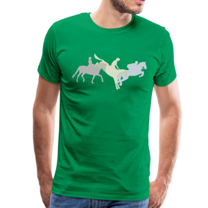 Men's Shadowed Eventing T-Shirt - kelly green