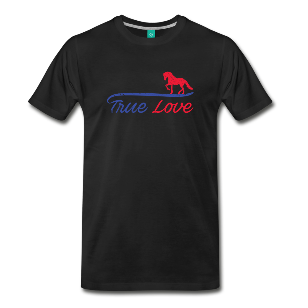 Men's True Love T-Shirt - black