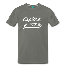 Load image into Gallery viewer, Men's Explore More T-Shirt - asphalt
