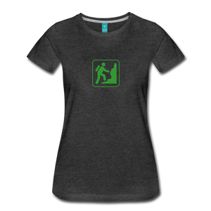 Women's Climb Icon T-Shirt - charcoal gray