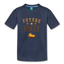 Load image into Gallery viewer, Toddler Future Hiker T-Shirt - navy