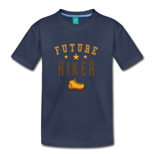 Toddler Future Hiker T-Shirt - navy