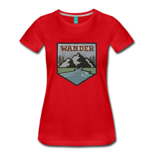 Load image into Gallery viewer, Women's Wander T-Shirt - red