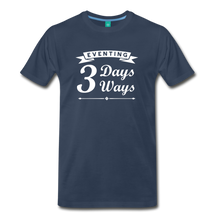 Load image into Gallery viewer, Men's 3 Days 3 Ways T-Shirt - navy