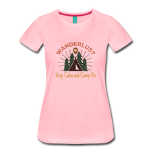 Load image into Gallery viewer, Women's Keep Calm, Camp On - pink