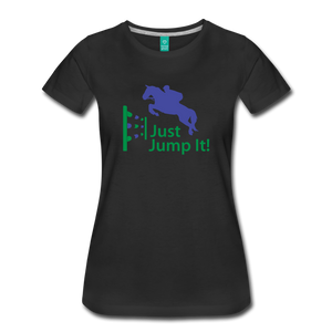 Women's Just Jump It T-Shirt - black