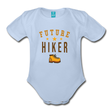 Load image into Gallery viewer, Future Hiker Baby Bodysuit - sky