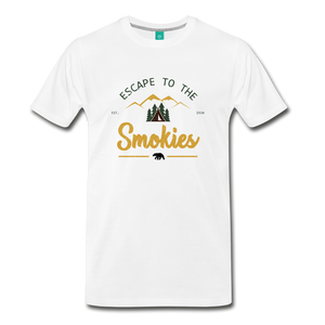 Men's Escape to the Smokies T-Shirt - white