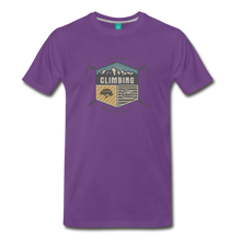 Load image into Gallery viewer, Men's Climbing T-Shirt - purple