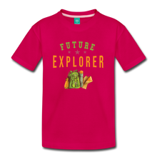 Load image into Gallery viewer, Kids' Future Explorer T-Shirt - dark pink