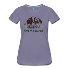 Load image into Gallery viewer, Women's Georgia on my Mind T-Shirt - washed violet