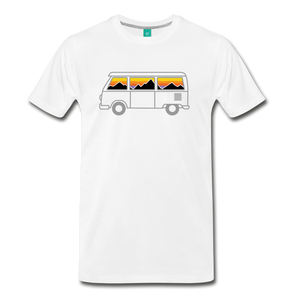 Men's Van Mountains T-Shirt - white