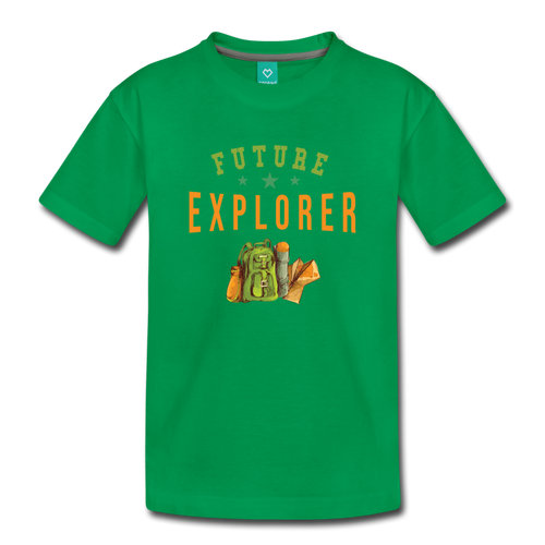 Toddler Future Explorer T-Shirt - kelly green