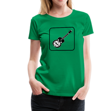Load image into Gallery viewer, Women's Dobro Icon T-Shirt - kelly green
