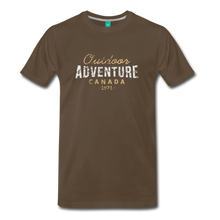Load image into Gallery viewer, Men's Outdoor Adventure Canada T-Shirt - noble brown