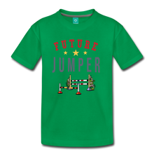 Load image into Gallery viewer, Kids' Future Jumper T-Shirt - kelly green