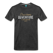 Load image into Gallery viewer, Men's Outdoor Adventure Canada T-Shirt - charcoal gray