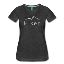 Load image into Gallery viewer, Women's Hiker T-Shirt - charcoal gray