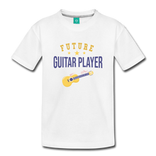 Load image into Gallery viewer, Toddler Guitar Player T-Shirt - white