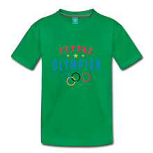 Load image into Gallery viewer, Toddler Future Olympian T-Shirt - kelly green