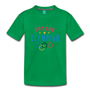 Toddler Future Olympian T-Shirt - kelly green