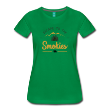 Load image into Gallery viewer, Women's Escape to the Smokies T-Shirt - kelly green