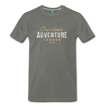 Load image into Gallery viewer, Men's Outdoor Adventure Canada T-Shirt - asphalt