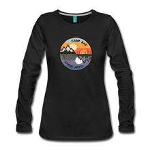Load image into Gallery viewer, Women's Camp Day Long Sleeve Shirt - black
