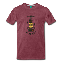 Load image into Gallery viewer, Men's Lantern T-Shirt - heather burgundy