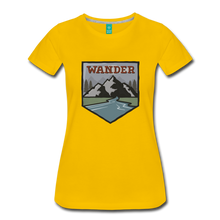 Load image into Gallery viewer, Women's Wander T-Shirt - sun yellow