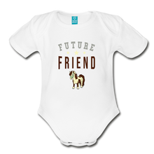 Load image into Gallery viewer, Future Friend Baby Bodysuit - white
