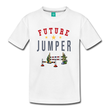 Load image into Gallery viewer, Kids' Future Jumper T-Shirt - white