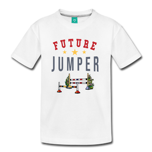 Kids' Future Jumper T-Shirt - white