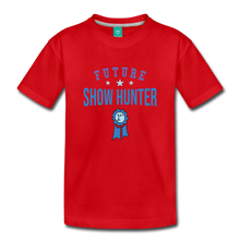 Load image into Gallery viewer, Toddler Future Show Hunter T-Shirt - red