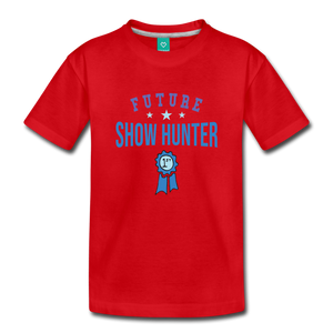 Toddler Future Show Hunter T-Shirt - red