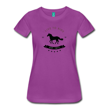 Load image into Gallery viewer, Women's Live to Ride T-Shirt - light purple