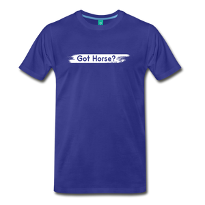 Men's Got Horse T-Shirt - royal blue
