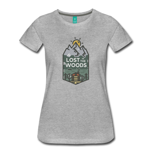 Women's Lost T-Shirt - heather gray